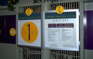 Century Shopping Signage