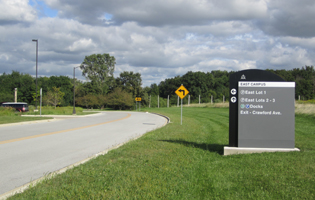 Governors State University Signage