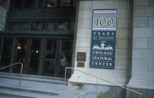 Chicago Cultural Center Signage