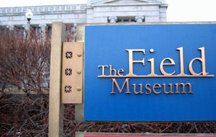 Field Museum Signage
