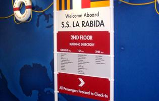 La Rabida Signage