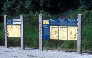Lake County Forest Preserve Signage