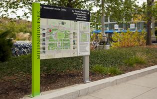 MIllennium Park Signage
