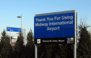 Midway Parking Signage