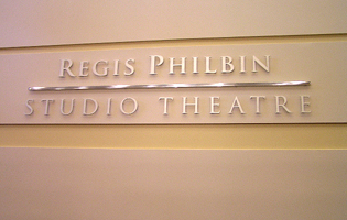 DeBartolo Performing Arts Center Signage