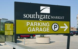 Southgate Shopping Signage