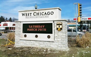 City of West Chicago Signage