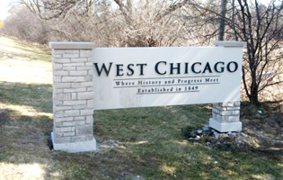 City of West Chicago Signage