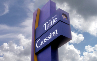 Tuttle Crossing Signage
